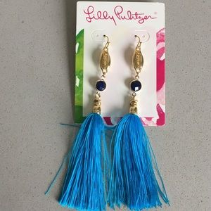 Lilly Pulitzer Seaside Tassel Earrings